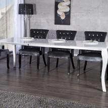 Stół Barok 170-230 biały
