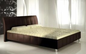 Łóżko tapicerowane 80263 bez pojemnika na pościel 160x200