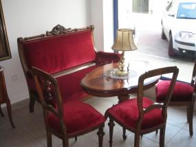 sofa plus 3 krzesła