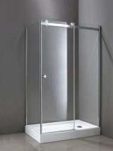 Kabina prysznicowa prostokątna Diora EXK-1025/EXK-1026 drzwi przesuwne