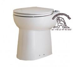 Ceramiczna miska WC z deską SANICOMPACT C43 ECO