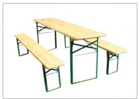 Drewniane meble ogrodowe 1