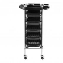 6-poziomowy organizer fryzjerski wózek skrętne koła MP4115