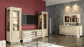 CAMELGROUP : witryny, komody, szafki RTV, stoły, krzesła, ławy