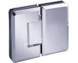Zawias prysznicowy szkło-szkło - różne modele