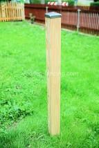 Słupki drewniane