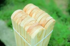 Sztachety drewniane modrzewiowe
