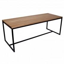 Loftowy stół dębowy na wymiar,