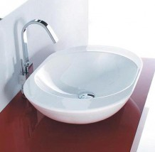 Umywalka nablatowa Disegno OVO 60