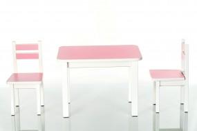 Komplety stolik z krzesełkami, różne kolory