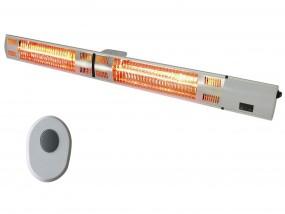 Ścienna lampa grzewcza na taras 105cm 3kW + pilot ST692322