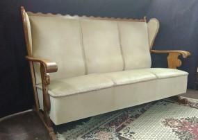 Zestaw Wypoczynkowy trzyosobowa sofa i fotele Wypoczynek