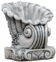 Fontanna ogrodowa - MUSZLA Symbol: 67_S207016C