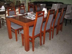 stól rozkładany ; krzesła tapicerowane 2m + (2x x50cm) x 100cm