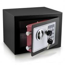Sejf elektroniczny mini czarny HD12667