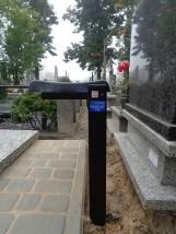 Ławka na cmentarz