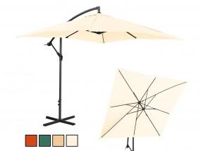 Parasol ogrodowy wiszący kwadratowy 250x250cm kolory MP10110078