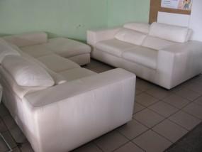 Narożnik skóra naturalna sofa skóra nat.