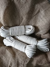 Liny plecione bawełniane