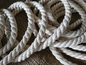 liny kręcone bawełniane