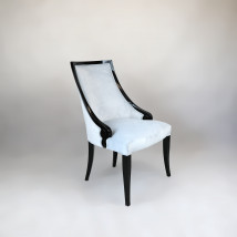 Krzesła tapicerowane do jadalni w stylu Art Deco