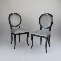 Elegancki komplet krzeseł do jadalni 1155/K